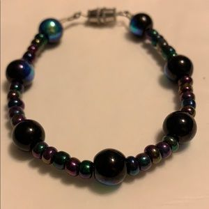 "Jewelry - ⚡️Multicolored beaded bracelet 7"""